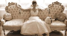 Bride in her Wedding Dress | Andre LaCour Photography