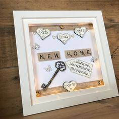 Personalised Childrens Gifts, Personalised Box, Personalized Wedding, Personalized Gifts, Scrabble Words, Scrabble Tiles, Deep Frame Ideas, Medal Hangers, 3d Box Frames