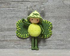 Clover Juicy Bug Saint Patrick's Day Bendy Doll