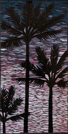 Palm Tree Mosaic. $750.00, via Etsy.