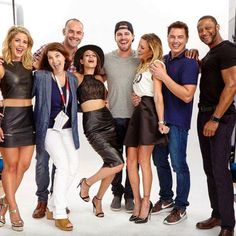 Arrow Cast SDCC 2015 PhotoShoot