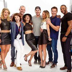 Arrow Cast SDCC 2015 PhotoShoot