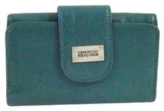 Kenneth Cole Reaction Teal Textured Tab Indexer Wallet Kenneth Cole REACTION. $19.99