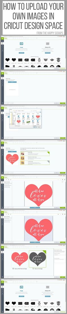 Have a Cricut Explore Air 2? Start uploading your own images, I'll teach you how with this tutorial of How to Upload Your Own Images in Cricut Design Space.