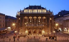 The Hungarian State Opera House, Budapest, Hungary Visit Budapest, Budapest Hungary, Capital Of Hungary, German Architecture, Most Beautiful Cities, Eastern Europe, World Heritage Sites, Vacation Trips, Vacations