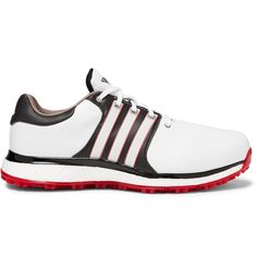 5c6637103 ADIDAS GOLF TOUR360 XT-SL LEATHER GOLF SHOES - WHITE.  adidasgolf  cloth