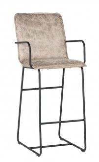 Wilson Barstool Taupe Want one of these? Contact us at 858-255-9050. www.shelleysassdesigns.com