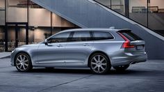 If you've been following these pages closely, you know everything about the 2017 Volvo V90 already. But now, we got fresh pictures of your 410 horsepower all-wheel drive Swedish wagon.