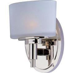 Maxim Lighting Lola Nickel Bath Vanity Light 9021SWPN at The Home Depot - Mobile