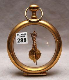 "Unique clocks | 288: Unusual ""Jaeger Le Coultre"" clock, 6 1/2""H x 5""L : Lot 288"