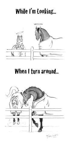 Horse Angels - comic