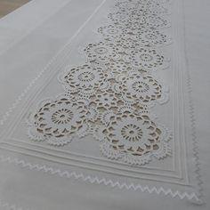 """181 Beğenme, 4 Yorum - Instagram'da İlknur Saruhan (@ilkceyiz): """"#danteldegerlendirme #şömentabla #faykumaş #ekru #nevrül #piko"""" Crochet Borders, Filet Crochet, Hand Crochet, Crochet Lace, Crochet Baby Dress Pattern, Crochet Tablecloth, Wedding Napkins, Christmas Cross, Handmade Soaps"""