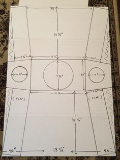 These are the measurements you use to build the body for a lego costume for a medium size kid about age 8 to 10