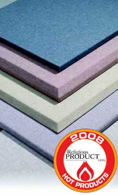 AlphaSorb™ Fabric Wrapped Wall Panels answer your acoustical and aesthetic needs with their strong sound absorbing performance, durability and elegant appearance. These wall panels are used for sound reduction and reverberation control. Available in a wide variety of sizes, shapes and colors.