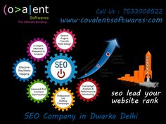 SEO Company in Dwarka Delhi offers SEO, blog, article & directory submission, social bookmarking, link building, video optimization, website analysis, keyword search, competitive analysis, SEO strategy formulation, reporting, on page and off page Seo techniques.