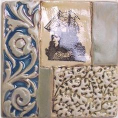 """"""" Poetic Fragments """" from Timeless Tiles"""