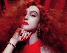 Frances Coombe by Miles Aldridge for Vogue Germany October 2015