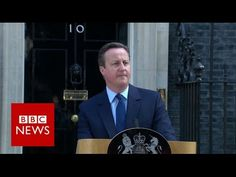 Brexit: David Cameron resigns as UK votes to leave - BBC News - YouTube
