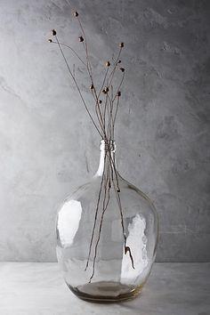 Glass Bottle Vase - anthropologie.com