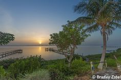 The sky was quite hazy at sunrise this morning over the Indian River just south of Fort Pierce. Indian River Lagoon, Treasure Coast, Sunrise, Sky, Celestial, Places, Outdoor, Heaven, Outdoors