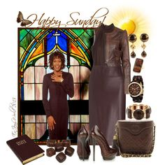"""""""HAPPY SUNDAY!!!: Featuring - Ms. WHITNEY HOUSTON"""" by enjoyzworld on Polyvore """"The Preacher's Wife"""""""