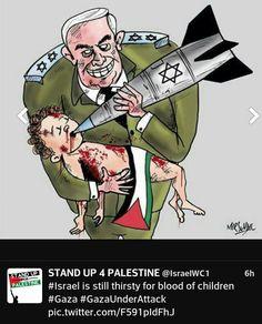 Netanyahu = Murderer of Innocent Children