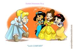 4 By Amy Mebberson Pocket Princess No. Disney Magic, Walt Disney, Disney Amor, Disney Girls, Pocket Princesses, Pocket Princess Comics, Disney E Dreamworks, Disney Movies, Disney Pixar