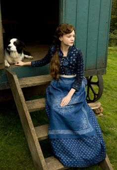 Costume design by Janet Patterson for Carey Mulligan in Far from the Madding Crowd (2015)