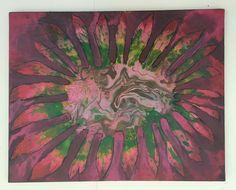 Tie-Dye Flower Trip by SourflowerArt on Etsy
