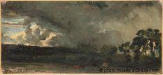 "Paris - Musee d'Orsay: Paul Huet, ""Ciel d'orage"""