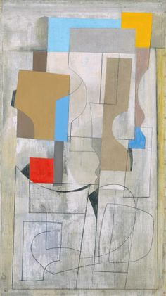 Ben Nicholson 'Feb 28-53 (vertical seconds)'. This could be a fantastic base for my concept. The scheme could really flow from this image. The form, colours and lines