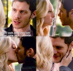 Klaroline (Klaus Mikaelson and Caroline Forbes) The vampire diares Caroline Forbes, Klaus Und Caroline, Tyler And Caroline, Vampire Diaries The Originals, Vampire Diaries Besetzung, Joseph Morgan, Damon Salvatore, The Cw, The Mikaelsons