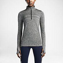 Nike Dri-FIT Knit Half-Zip Women's Running Shirt. Nike Store