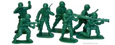 Army Men - I hope I never forget the Christmas that someone gave my teenage brother some of these as a gift. A little old for these, but he was polite.
