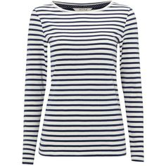 e03e18c7d917b Buy Spinach Green White Stuff Florence Long Sleeve Stripe T-Shirt from our  Shirts   Tops range at John Lewis   Partners.