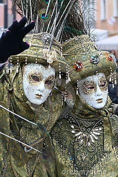 Masque - carnaval - Venise Italie                              …