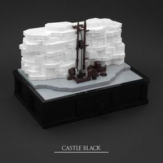 Castle Black is the headquarter of the Night's Watch and located on the southern side of the Wall. Inspired by the Game of Thrones intro I built a series of clockwork micro scale castles from the TV series. List of all castles: - Winterfell - The Twins - Castle Black - King's Landing