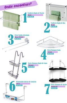 Como organizar banheiros pequenos