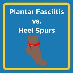 Plantar fasciitis vs. heel spurs: do you know the difference between plantar fasciitis and heel spurs? Click to learn how to identify the cause of your heel pain.