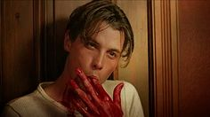 One last lickable Skeet Ulrich gif from Scream.