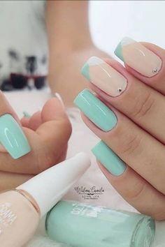 Color For Nails, Love Nails, My Nails, Splatter Nails, Stylish Nails, Galaxy Wallpaper, Nail Arts, Beauty Care, Pedicure