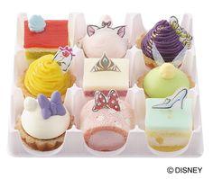 ディズニープリンセスたちがキュートなプチケーキに!コージーコーナーのひなまつり限定のスイーツ発売