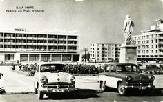 Romania, Cars And Motorcycles, Street View, Retro, Vintage, Motorbikes, Vintage Comics, Retro Illustration