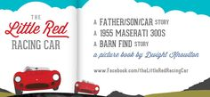 "Another ""Share Graphic"" for the Little Red Racing Car book project"