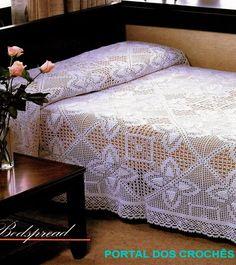 Crochet: 2 Bedspread