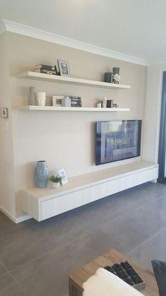 Living Room Tv Unit, Living Room Storage, Home Living Room, Living Room Designs, Living Room Decor, Tv Wall Ideas Living Room, Diy Furniture Building, Furniture Ideas, Furniture Stores