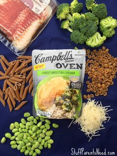 photo campbells oven sauces Busy weeknight dinner idea: a simple pasta bar! Cook the noodles ahead of time to pull this dish together in mere minutes!