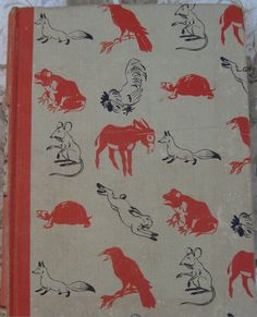 Aesop's Fables. Illustrated Junior Library Edition. Published by Grosset & Dunlap in 1947. Illustrated by Fritz Kredel.