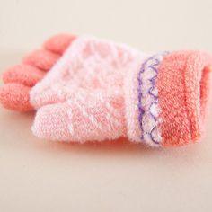 2016 Fashion Gloves children Mitten Warmer unisex boys and gils Pretty Stylish Winter Glove Fingerless Gloves