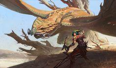 Mythic Creatures - Art of Jason Kang